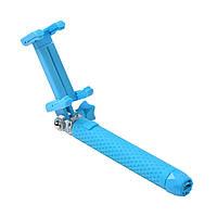 Телескопический монопод Grand-X Portative Bluetooth 130-640мм Blue (MPGPBBL)