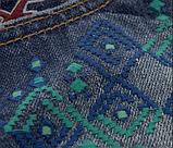 Джинсові шорти Hollister з орнаментом, фото 2