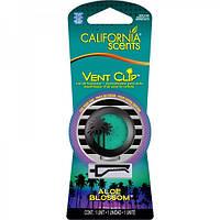 Ароматизатор California Scents Vent Clip Aloe Blossom (VC-314)