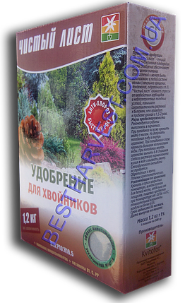 Чистый Лист для хвойников 1,2кг (4х300г), фото 2