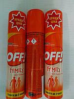 Аэрозоль OFF Family от комаров 100мл