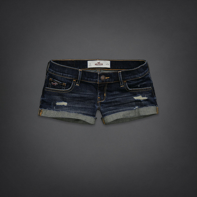 Джинсовые шорты Hollister 5757