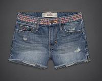 Джинсовые шорты Hollister, A&F