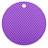 Подставка под горячее (силикон) фиолетовая Home Essentials B1160