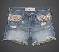 Джинсовые шорты Hollister, A&F, фото 1