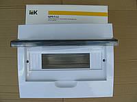 Бокс навесной ЩРН-П 12 модулей пластиковий IP40 ІЕК