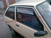 Ветровики (дефлекторы окон) Voron на Таврию ЗАЗ 1102
