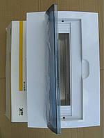 Бокс навесной ЩРН-П 18 модулей пластиковий IP40 ІЕК