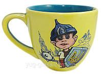 Чашка 200 мл «Одесса»  национальная с деколью козачёк.
