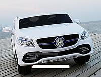 Электромобиль детский Mercedes-AMG джип с пультом управления двухместный JJ 609 AR-1 белый