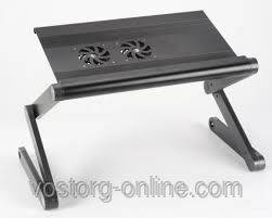 Поставка для ноутбука, подставка столик для ноутбука,  Laptop table T6, , фото 2