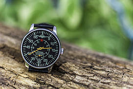 Советские старинные механические мужские часы Победа, Военно воздушная разведка