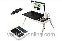 Підставка столик для ноутбука E-table, дорожній столик, підставка під ноутбук