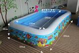 Дитячий надувний басейн Підводний світ Intex 58485, фото 2