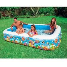 Дитячий надувний басейн Підводний світ Intex 58485