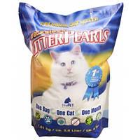 Litter Pearls ТРАКЛЕС (TrackLess) кварцевый наполнитель для туалетов котов 7.6л