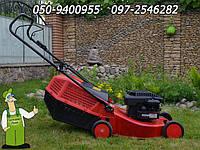 Газонокосилка бензиновая Mimir R 484 б/у Италия, качественная надёжная газонокосилка из Германии