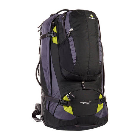 Сумка-рюкзак Deuter Traveller 80+10 black/moss (3510215 7260)