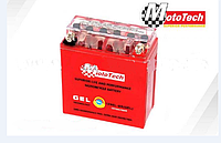 Гелевый аккумулятор 12N5L-BS 12V5 на мопед,KANUNI,VIPER,MUSTANG (GEL) ACTIVE(высокий) Мототех/MotoTech