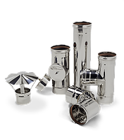 Дымоходные трубы и комплектующие из стали