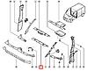 Пластиковая оббивка салона (место перегородки, нижняя, центральная) на Renault Trafic 2001->  —  8200041179, фото 2