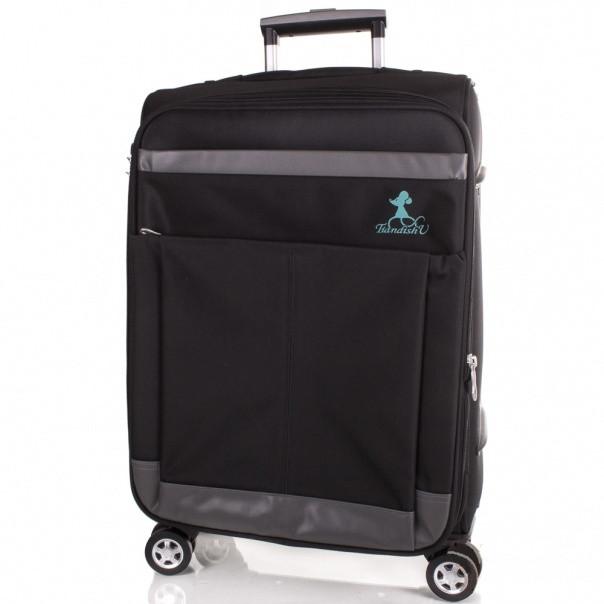Чемоданы тканевые пестрые на колесах рюкзаки первоклашке купить недорого скидки