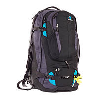 Сумка-рюкзак Deuter Traveller 60+10 black/turquoise (3510015 7321)