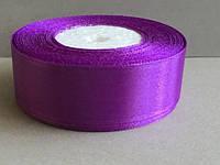 Лента атласная цвет №46 (светло-фиолетовый) шириной 2,5 см