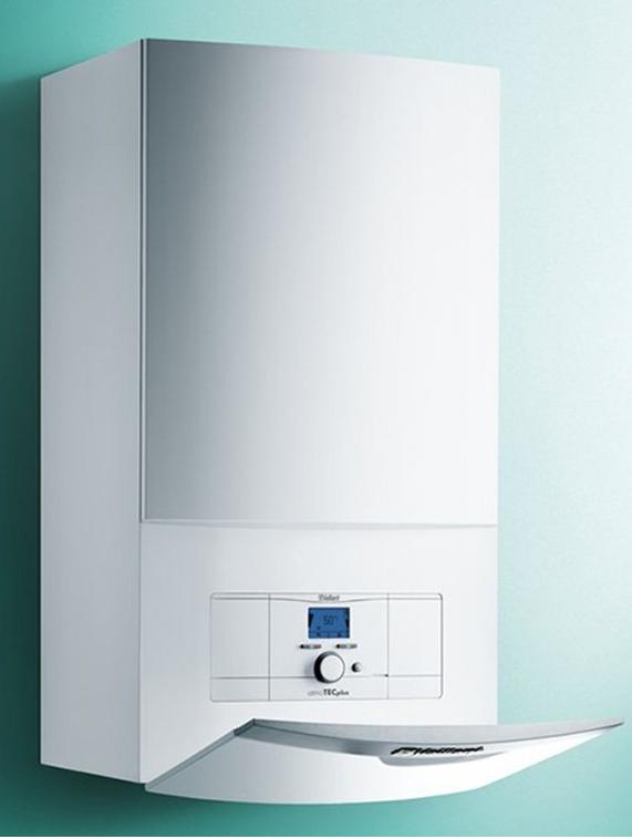 Настенный двухконтурный газовый котел Vaillant turboTEC plus VUW INT 242/5-5 H Мощность 24 квт