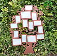 Мультирамка для фото Семейное дерево