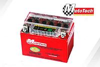 Гелевый аккумулятор АКБ 4АМ с индикатором YTX4L-BS (GEL), Honda Dio,Tact,Lead,Suzuki Sepia,Yamaha MotoTech