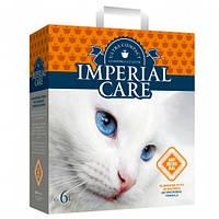 Империал (IMPERIAL CARE) с SILVER IONS ультра-комкующийся наполнитель в кошачий туалет 10кг