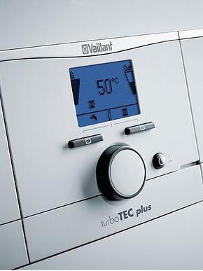 Настенный двухконтурный газовый котел Vaillant turboTEC plus VUW INT 200/5-5 H Мощность 20 квт, фото 2