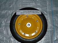 Колесо лите для тачки о/d=16 жовте