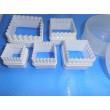Формы для вырезания квадратные пластмасовые 10 шт.(код 02149)