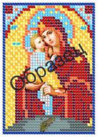 """Схема для вышивки бисером на габардине - """"П.Б Почаевская"""" (Код: Схема, А6, Габардин, Арт.Ж-3)"""
