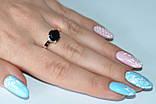 Серебряное кольцо с золотыми пластинками, фото 5