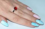 Серебряное кольцо с золотыми пластинками, фото 6