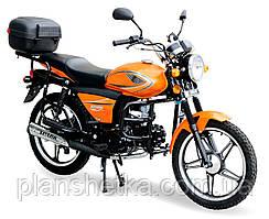 Мотоцикл Spark SP125С-2X Задний багажник, защита ног, задняя подножка для пассажира