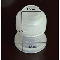 Переходник кондитерский 3 см пластмассовый, фото 1