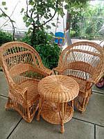"""2 кресла """"Словацких"""" + столик """"Гриб"""""""