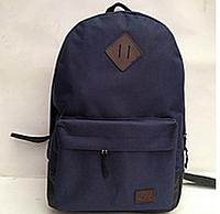 Городской рюкзак Lee синий c коричневым