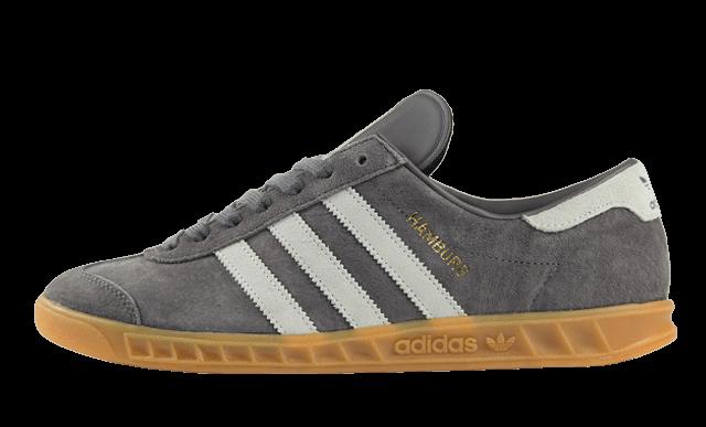 Мужские кроссовки Adidas Originals Hamburg Grey