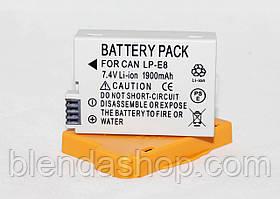 Аккумулятор для фотоаппаратов CANON 550D, 600D, 650D, 700D - LP-E8 (аналог) - 1900 ma