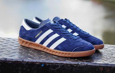 Мужские кроссовки Adidas Originals Hamburg Blue
