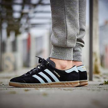 "Мужские кроссовки Adidas ""Hamburg"" black / white"