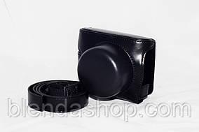 Защитный футляр - чехол для фотоаппаратов NIKON 1 J5 - цвет черный