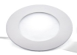 Светодиодный светильник,врезной круг,3W, 4000K,алюминий