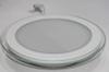 Светодиодный светильник,врезной круг со стеклом,18W, 4000K,алюминий