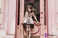 Детский модный сарафан 1602/55 ЮГ, фото 1